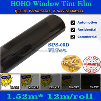 High quality Window Tint Solar Film/Sticker 5ft x39ft one Roll car home office
