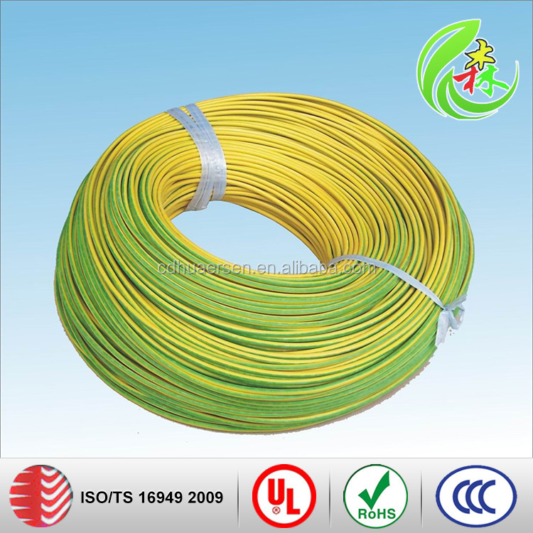 Flexible Braid Jacket Silicone Rubber Insulation Heating Cable
