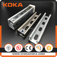 hot dipped galvanized c strut channel(CE UL ISO)