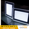 Slim Tabletop Light Box Crystal Glow Display Stand A3 Poster Frames Black LGP Lighting Sign