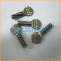 Hot sales high quality long stainless aluminum thumb screws for wood
