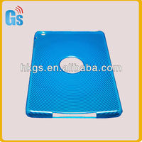 For Ipad Covers Wholesale!Blue Finger Print Pattern Gel Case For Tablet,Protective Case For Nook Color