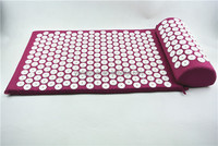 Back Pain Relief Acupressure Massage Mat and Neck Pillow Set