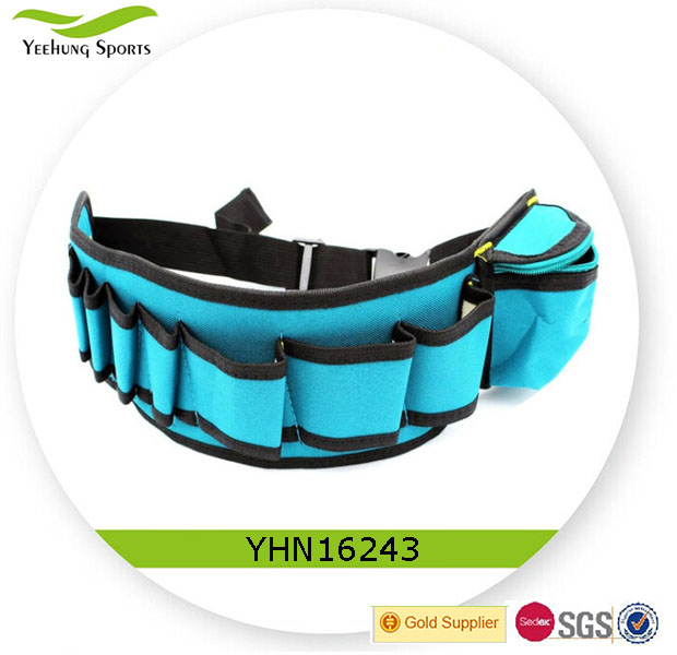 China supplier tool bag, practical tool belts with pouch