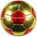 wholesale laser or metallic frosted PVC mini soccer ball for kids gift