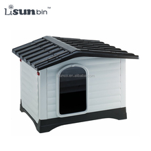 wholesale large dog house pet dog cages plastic dog crate with door