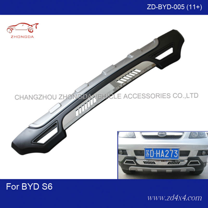 BYD S6 rear bumper guard,bumper guards for BYD S6,BYD S6 auto car parts accessories