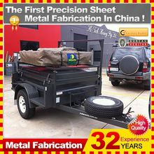 metal camper trailer off road,with custom service