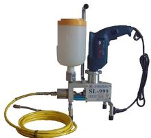 Electric high pressure concrete injection machine