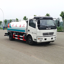 Best-selling new product 12-16m sprinkling area water tank truck
