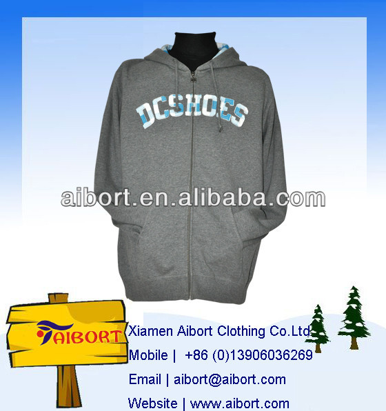 ZH-18 Gray Warm Leisure Hoodie for Women