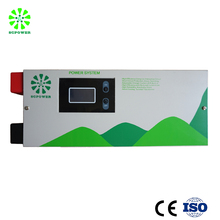 8000W hybrid inverter with built-in MPPT solar charge controller