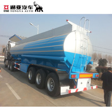 2018 china quality made 36000 litres fuel tanker semi trailer manufacturer
