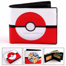 High Quality Cosplay Japanese Purse Pokemon Anime Japanese Cute Cartoon Fancy Wallet