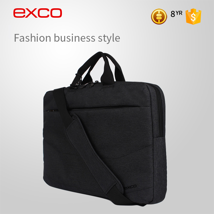 EXCO Men professional design business small trolley design polyester laptop computer bag