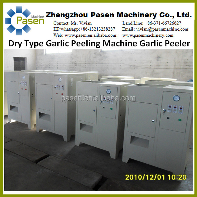 Zhengzhou Pasen Garlic Peeling Machine Sold to Many Countries with High Quality and Low Price