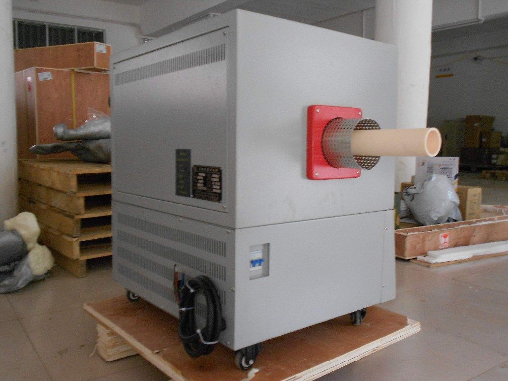 1600C Laboratory Vacuum Tube Atmosphere High Temperature Furnace Inert Gas Vacuum Furnace with Corundum Tube