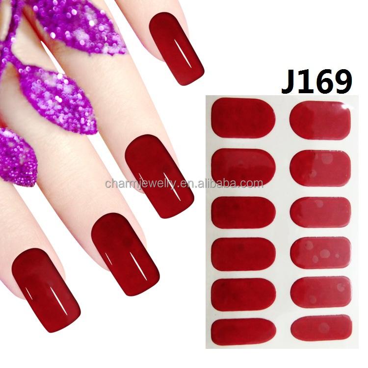 Wholesale nail polish nail stickers - Online Buy Best nail polish ...