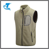 Spring Outdoor Polar Fleece Sleeveless Jacket with Stand Collar