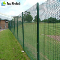high density, high tensile mesh ClearVu low carbon steel wire 358 security fence