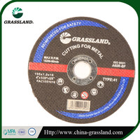 Stone cutting T41 flat abrasive metal cutting discs