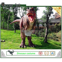 Mechanical adults hidden legs realistic dinosaur costume