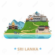 popular tourist place sri lanka fridge magnet