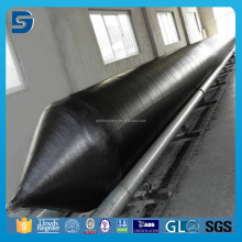 SGS certified inflatable rubber barge ship launching airbag