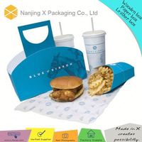 Custom printed cake box X-30 printing cake box package