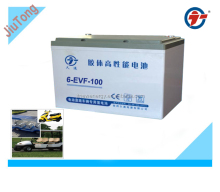 12V100AH Electric vehicle battery/ for golf car battery
