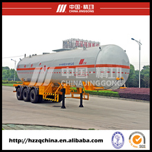 3 Axles flammable liquid gas lpg trailer tanker for sale