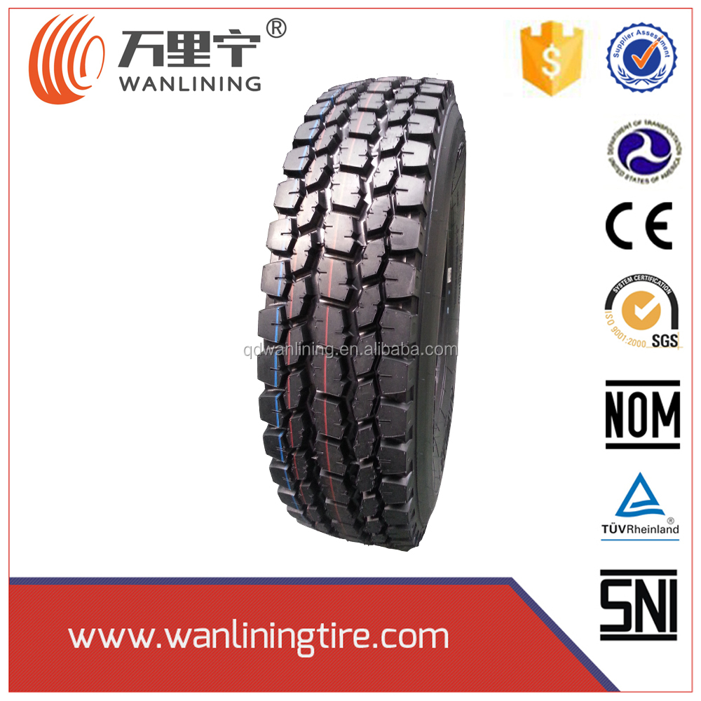 1100R22.5 turck tire sale to USA miami market