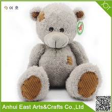 LOVELY BIG BELLY BEG GREY BEAR PLUSH STUFFED TOY FOR GIFT