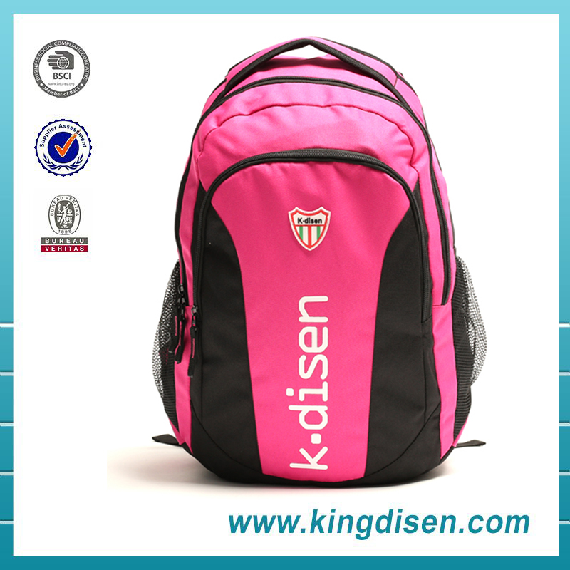 New fashion design customized sport backpack 2016