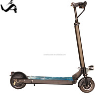 300W stand up 8 inch light weight small electric scooter with pedals