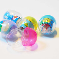 Colourful Japanese Plastic Gashapon Capsule Toys