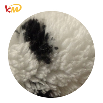 Very cheap polyester shu velveteen fabric for winter blanket made in China