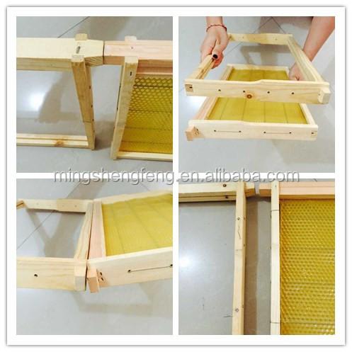 Индивидуальные пчелиный улей рамка, сосна деревянный улей кадров, ель деревянный пчелы кадров