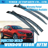 High quality rain guards autoventshade for mazda Mazda 3 Axela 14