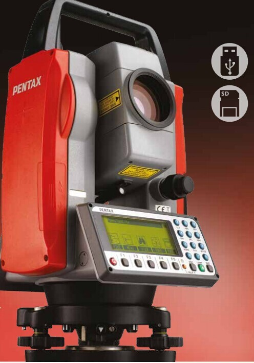 Estacion total Pentax R-425VN Total Station with USB