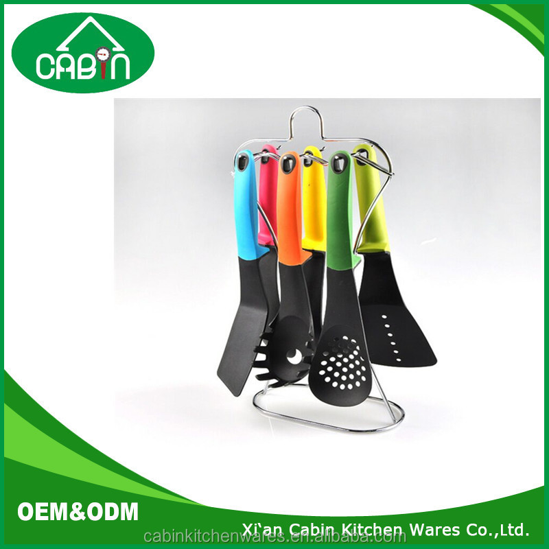 7-Piece Nylon Kitchen Cooking Utensil Set