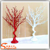 Custom colors fake tree or white plastic dry branches artificial dry tree for indoor centerpieces decoration