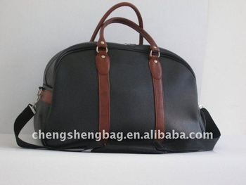 leather clothes bag