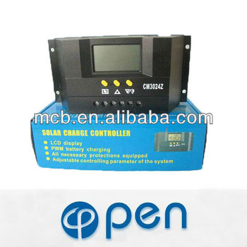 User friendly OP-CM3024Z 30A pwm solar charge controller manual
