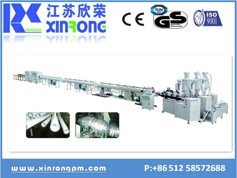 china best selling best price plastic pp pe pvc split corrgated flexible conduit production line