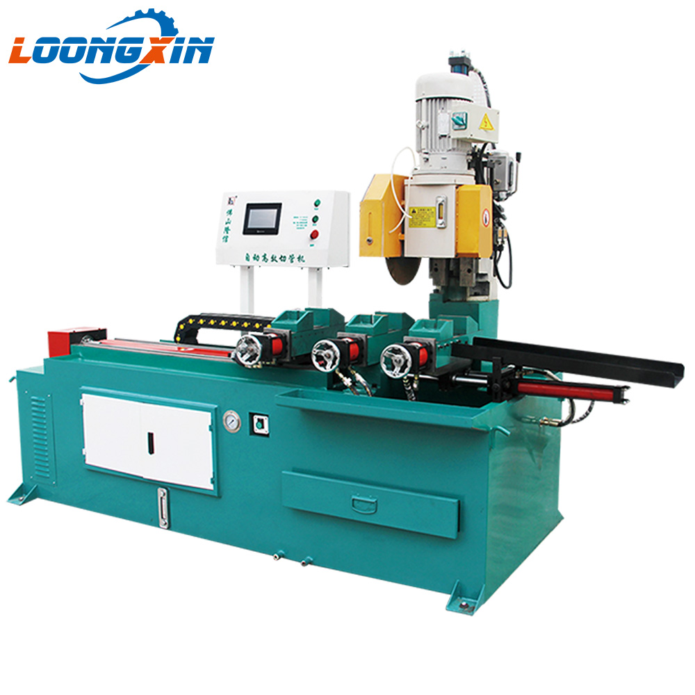 CS-400CNC-<strong>H</strong> Operation video automatic pipe cutting machine steel stainless steel tube cutter