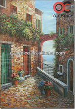 fashion handmade canvas oil paintings of landscape natural beauty for home decor