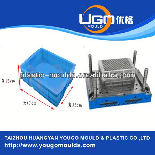 plastic container injection mold maker and 2013 New household plastic injection tool box mould