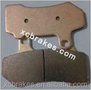 direct factory offering sintered Motorcycle &ATV brake pad suitble for HARLEY DAVIDSON1000-1300CC