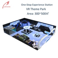 Lechuang Indoor Shopping Mall 9D Entertainment Equipment 360 Vision 9D Vr Simulator 9D VR Game Machine VR Theme Park